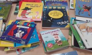 De nombreux livres disponibles